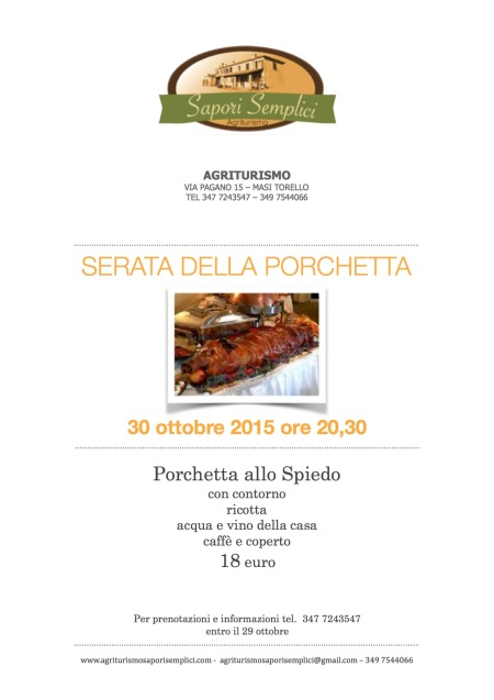 sap sep porchetta