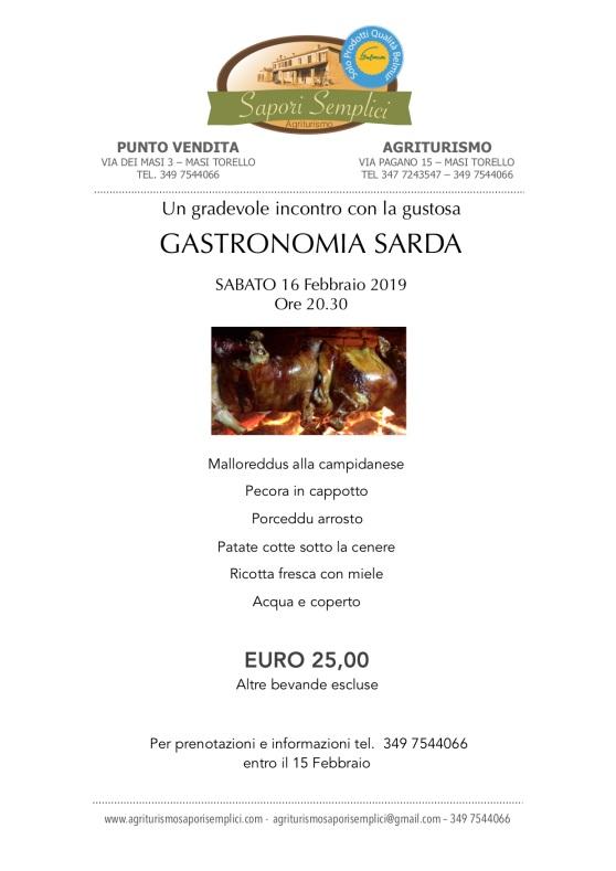 Gastronomia Sarda